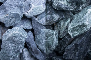 Marmor Grün Steinschlag