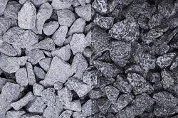 Granit Grau Steinschlag