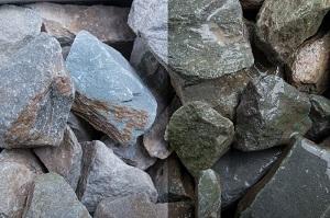 Grauwacke Steinschlag