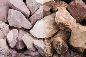 Savannen Steinschlag