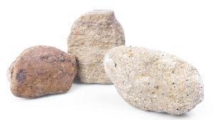 Sandstein Gelb Grau Gabionensteine
