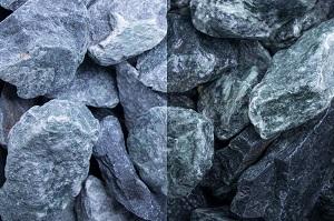 Marmor Gr�n Gabionensteine