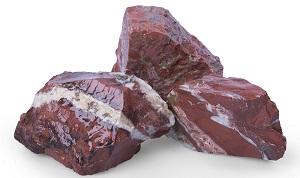 Red Jaspis Gabionensteine