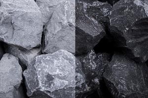 Basalt Gabionensteine