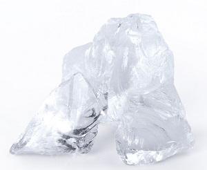 Glas Gabionenstein Clear (Klar)