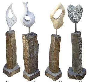 Statuen aus Basalt