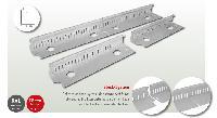 Silex Kiesfangleiste Fix Aluminium (Steck-System)