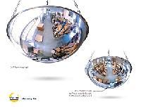 Panoramaspiegel  Polycarbonat / Deckenmontage (1/2 Kugel)