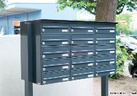 EXPRESS BOX FS-244H (horizontal) mit Verkleidung RI244H (Edelstahl)