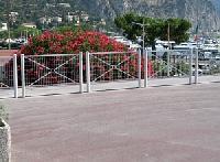 Geländer PROVINZ mit Großkreuz, Rosette, oder Gitter
