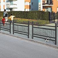 Geländer LINEA mit Draht