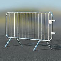 Ecobar® -Absperrgitter aus Stahl
