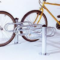 Deko-Fahrradst�nder MERCURE im Baukastensystem