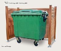 Abfallbehälter-Umhausung