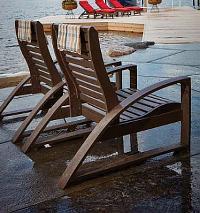 C.R.P. Lounge-Stühle + Cocktailtische