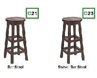 C.R.P. Barhocker - Bar Stool C21+23 (Muskoka)
