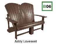 C.R.P. Addy Loveseat/Doppelsitzer B06 (Muskoka)