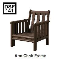 C.R.P. Lounge Sessel mit Armlehnen DSF141