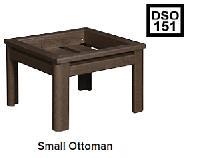 C.R.P. kleiner Beistell-Hocker DSO151