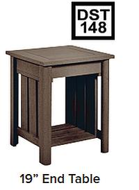 C.R.P. End Table / Beistell-Tisch DST148