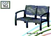 C.R.P. Lounge Armlehnen-Sofa 2-Sitzer DSF162