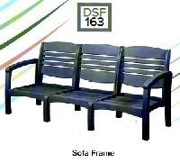 C.R.P. Lounge Armlehnen-Sofa 3-Sitzer DSF162