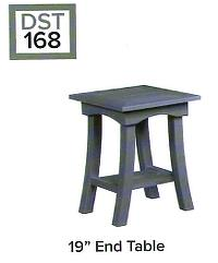 C.R.P. End Table / Beistell-Tisch DST168