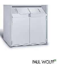 EINSTIEGSMODELL Serie 800 Beton-M�lltonnenbox  [PAUL WOLFF�]