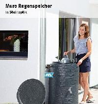 MURO Regenfass/-speicher 260 Liter (NEU)