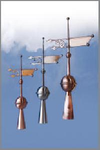 Turmspitzen aus Kupfer