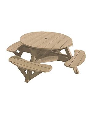 T50 Picknicktisch, normale Ausführung (beige 07)
