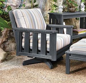 Lounge-Dreh-/Schwenk Sessel (Swivel Arm Chair Fraime) - Auflagen NICHT inklusive