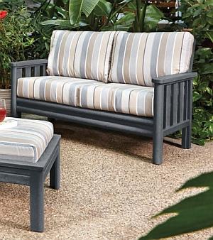 DSF142 Loveseat Frame 2er-Sofa (Sitzauflagen und Hocker NICHT inklusive)