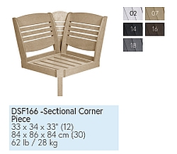 Farbtabelle Sectional Corner Piece DSF166
