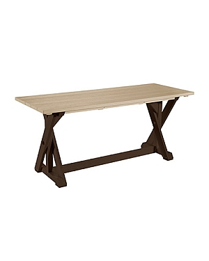 Harvest Dinig Table - Two Tone