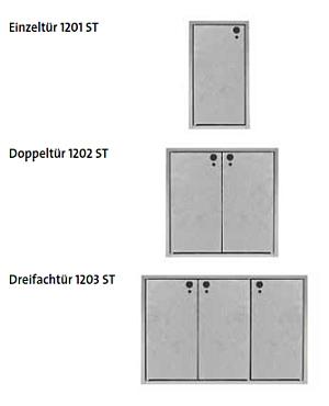 Mauerwerkst�ren der KLASSIK Serie 120