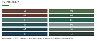 Avantgarede-Farbauswahl DB