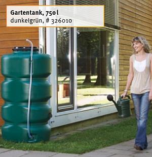 Abb. zeigt GARTENTANK, 750 Liter