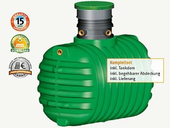 Garantia Christall Regenwassertank - begehbar