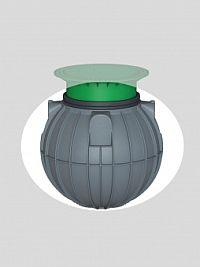 Universalschacht Saphir 600 Liter