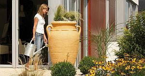 GRAF Regentonne Antik Amphore 250 Liter