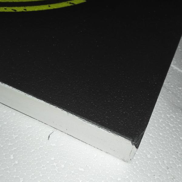Wandplatte-Seitenansicht