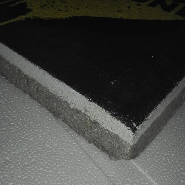 Bodenplatte Seitenansicht