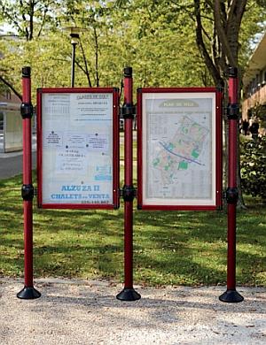 Abb. zeigt City-Informationssystem Grundmodul + Erweiterungsmodul