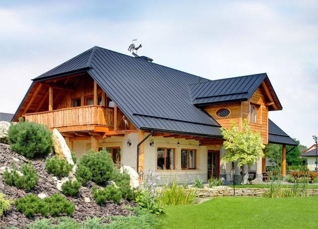 Stehpfalz Dachpaneele von POLMETAL