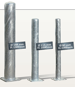 Schutzpfosten - Version Stahl feuerverzinkt