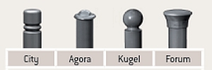 4 Kopfmodelle zur Wahl (s. Auswahl/Preise)