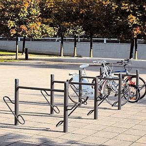 Fahrradständer DUO - Aufstellbeispiel