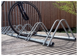 Fahrradständer INFINITE Montagebeispiel