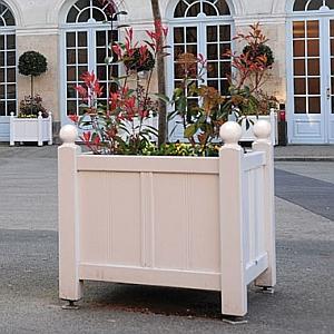 Palmenkasten/Blumenk�bel BREST (Abb. zeigt lackierte Version)